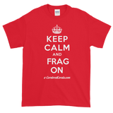 "Cornbred Corals ""Keep Calm"" Short sleeve t-shirt"