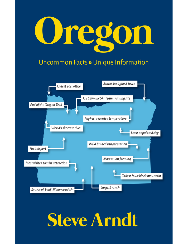 Oregon - Uncommon Facts & Unique Information