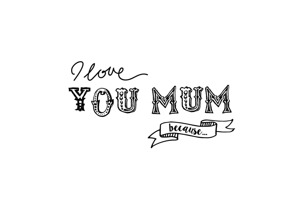 Mother's Day Colouring Sheets