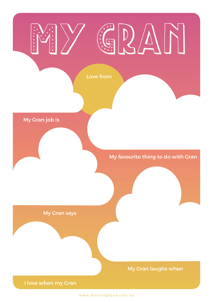 My Gran - Mother's Day Printable