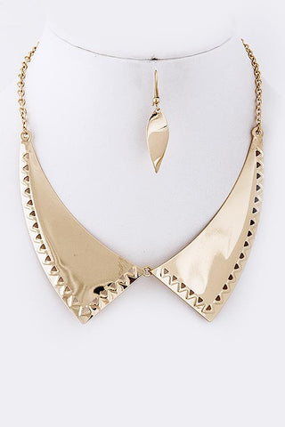 Metal Bib Set