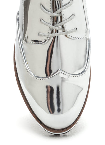 Oxford Metallic Shoes