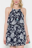 Blossomed Navy Dress   - FINAL SALE