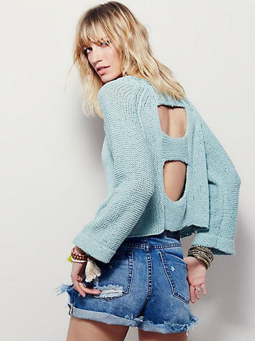 Endless Rose Sweater - Mint