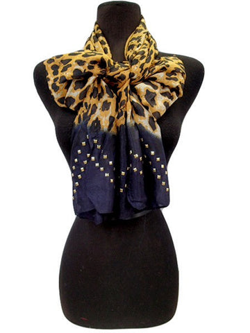 Hombre Studded Scarf