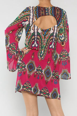 Ethnic Chiffon Dress