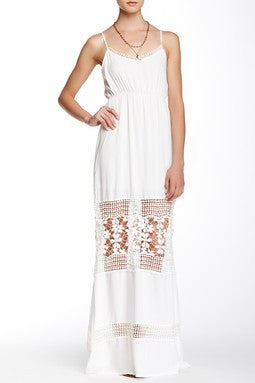Bella Maxi Dress - White- FINAL SALE