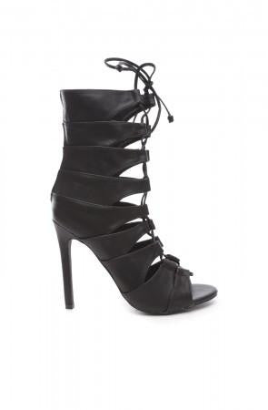 Nikki Heels - Black- FINAL SALE