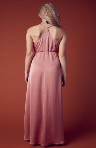 Satin Dream Maxi Dress