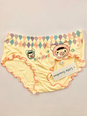 Girls cartoon printed underwear - Little Guardian