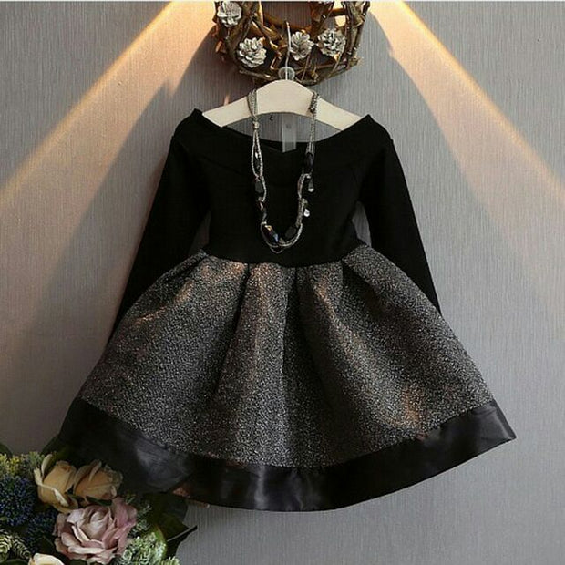 Long Sleeve Exclusive party dress - Little Guardian