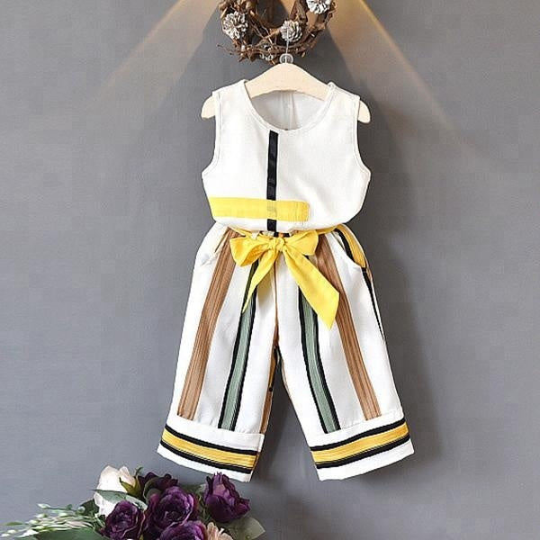 Chiffon summer suits for girls - Little Guardian