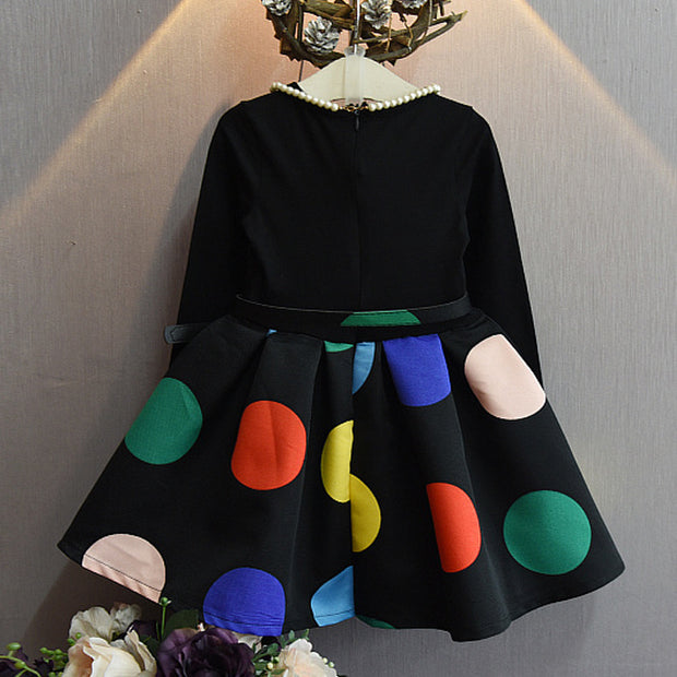 Boutique dotted belt dress - Little Guardian
