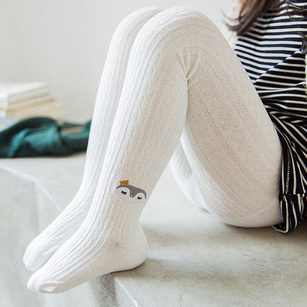 Animal pattern tights - Little Guardian