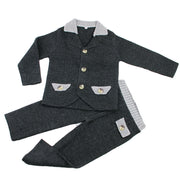Three pieces knitted suits set - Little Guardian
