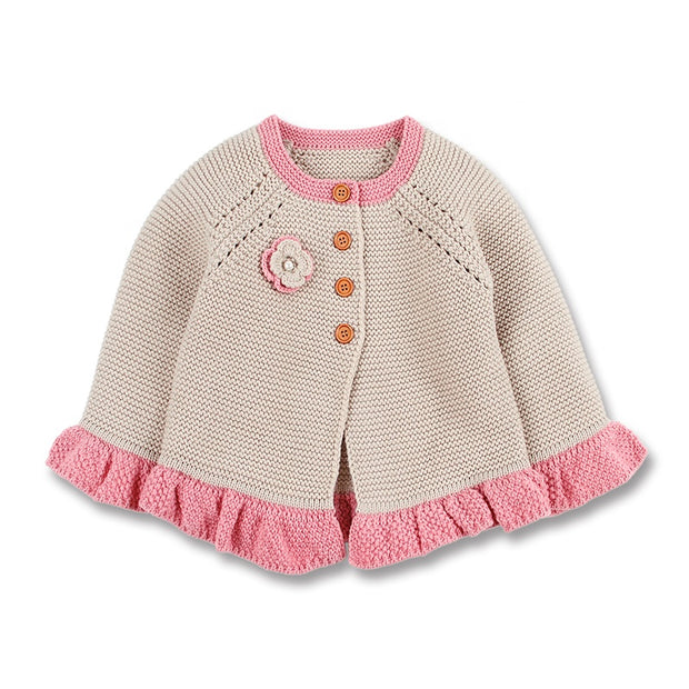 Laced sweater cardigan - Little Guardian