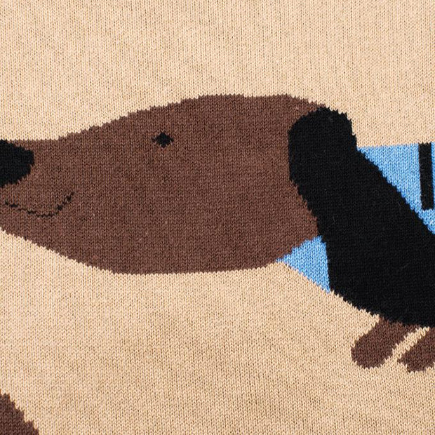 Cartoon pattern sweater - Little Guardian