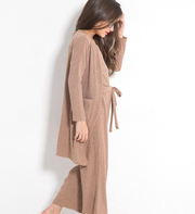 Three pieces khaki dress sets - Little Guardian