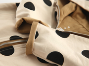 Polka dot double sided jacket - Little Guardian
