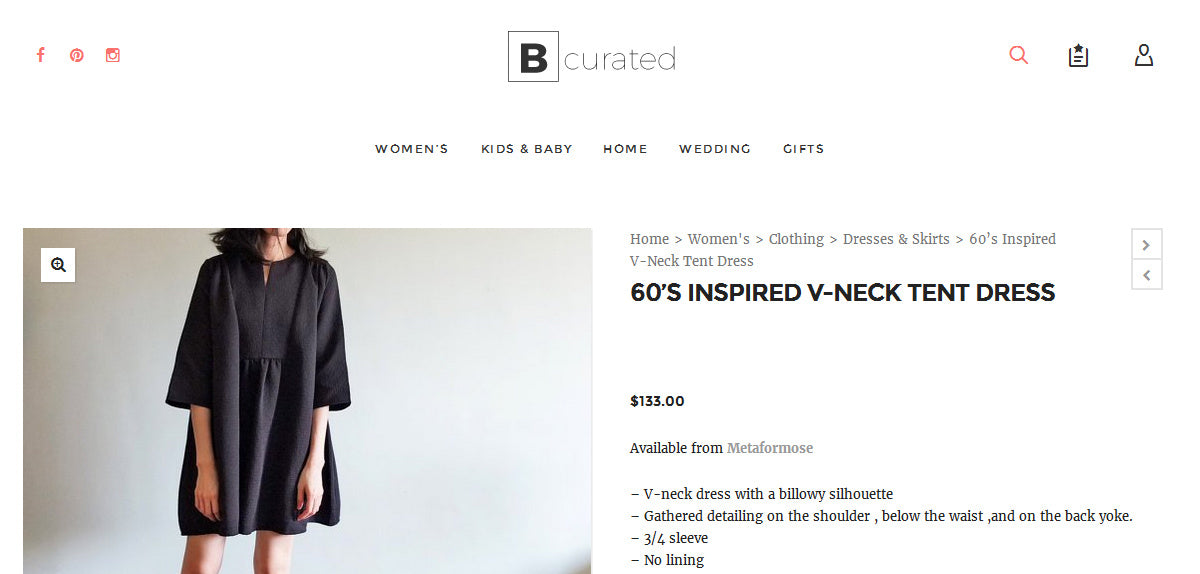 MétaFormose featured by Bcurated
