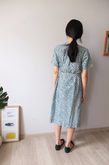 peacock dress-sold out