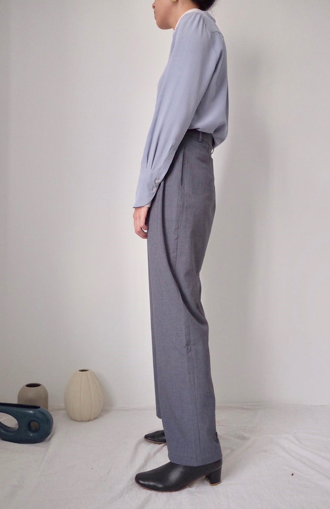 Isetan Trousers (available in black & bluish grey)