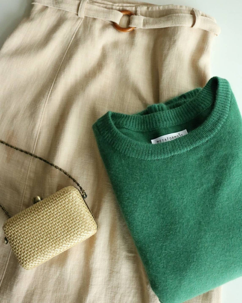 Jungle sweater (cutom-made with mink cashmere)
