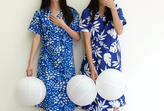 palm dress (the one on the right)-sold out