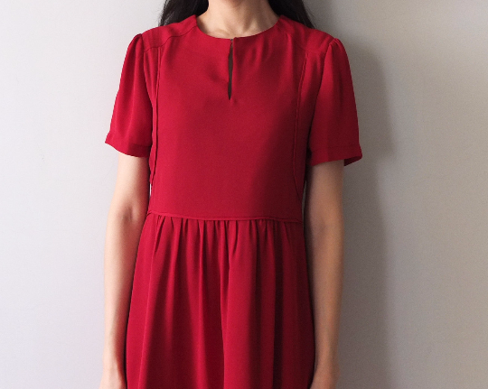 scarlet dress-sold out