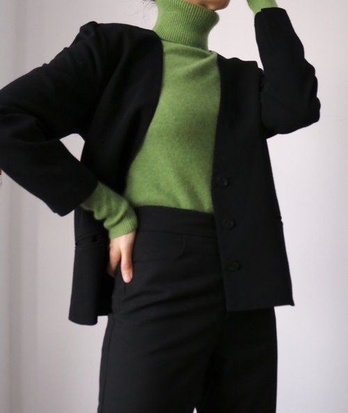 Coleen Sweater {Granny Smith, merino wool, only sz M/L left}  Sample clearance