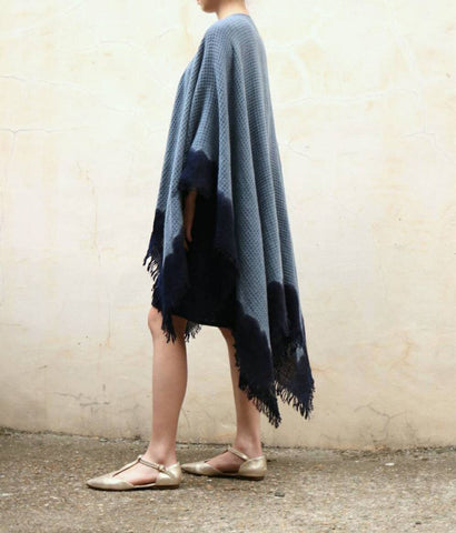 Tie & Dye Poncho -French label :Inouitoosh (last one in stock)-sold out