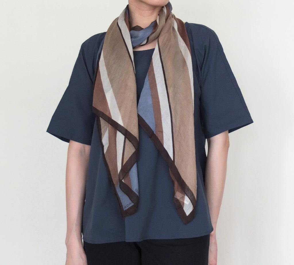 fanfare scarf {vintage,100% silk}-sold out