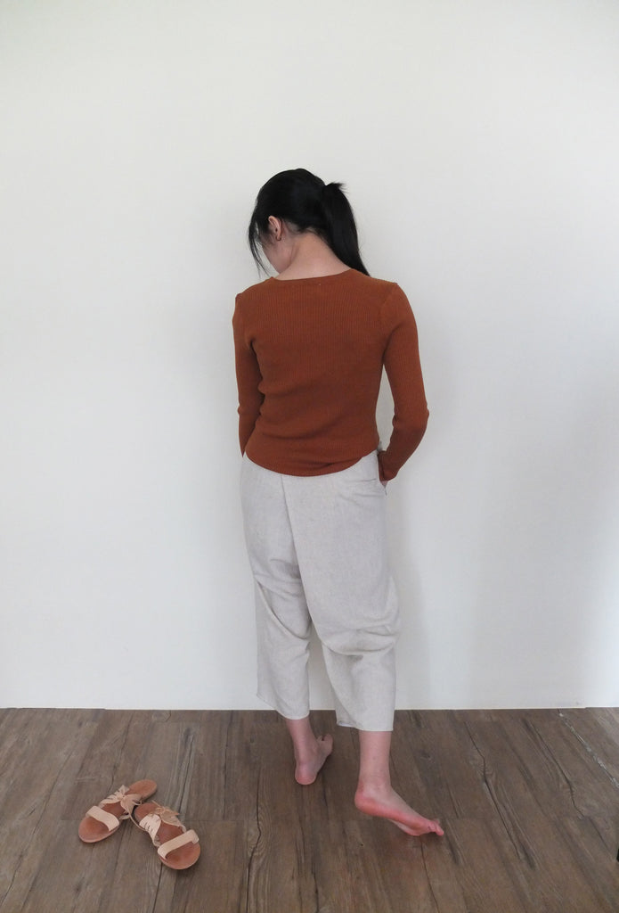 leni wrap trousers-sold out