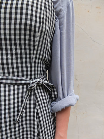gingham dress {japanese vintage}-sold out