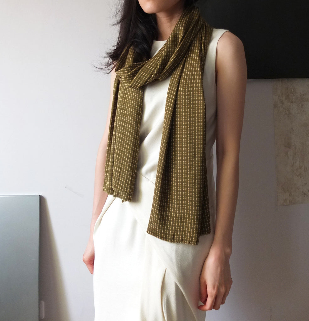 Olive scarf-sold out