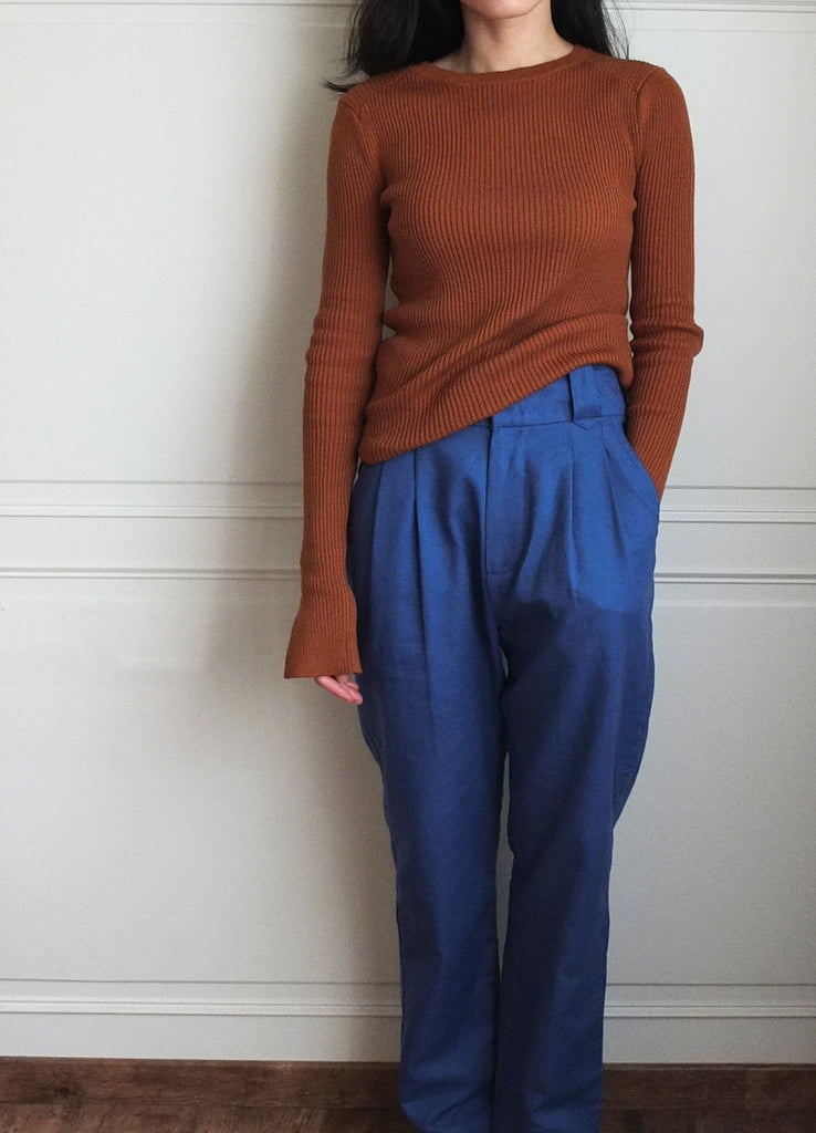 Murad trousers {sailor blue}