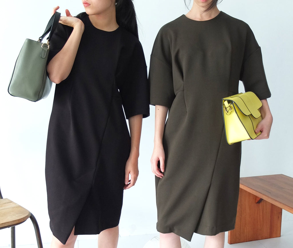KAMIKO DRESS {ONE SIZE ONLY, only olive left }