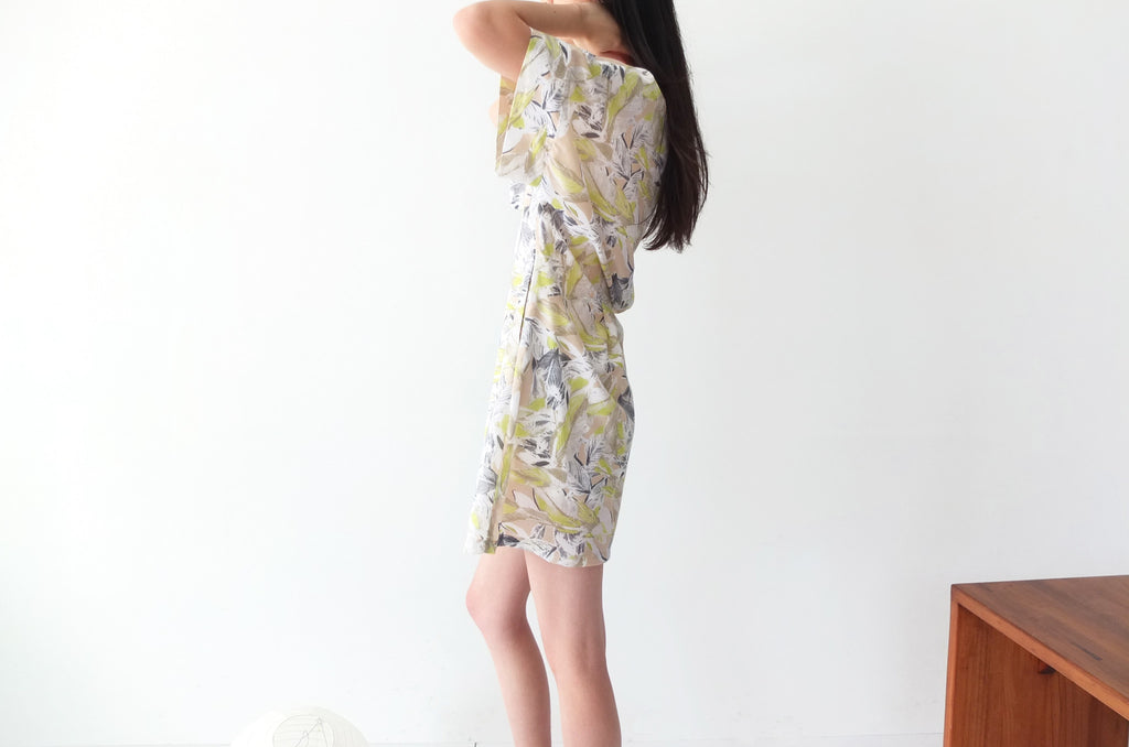 Scafati dress{fabric imported from Japan}-sold out