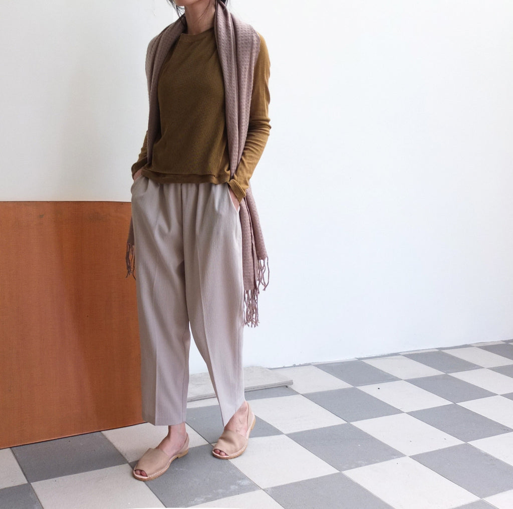 Crepe trousers {sold out}