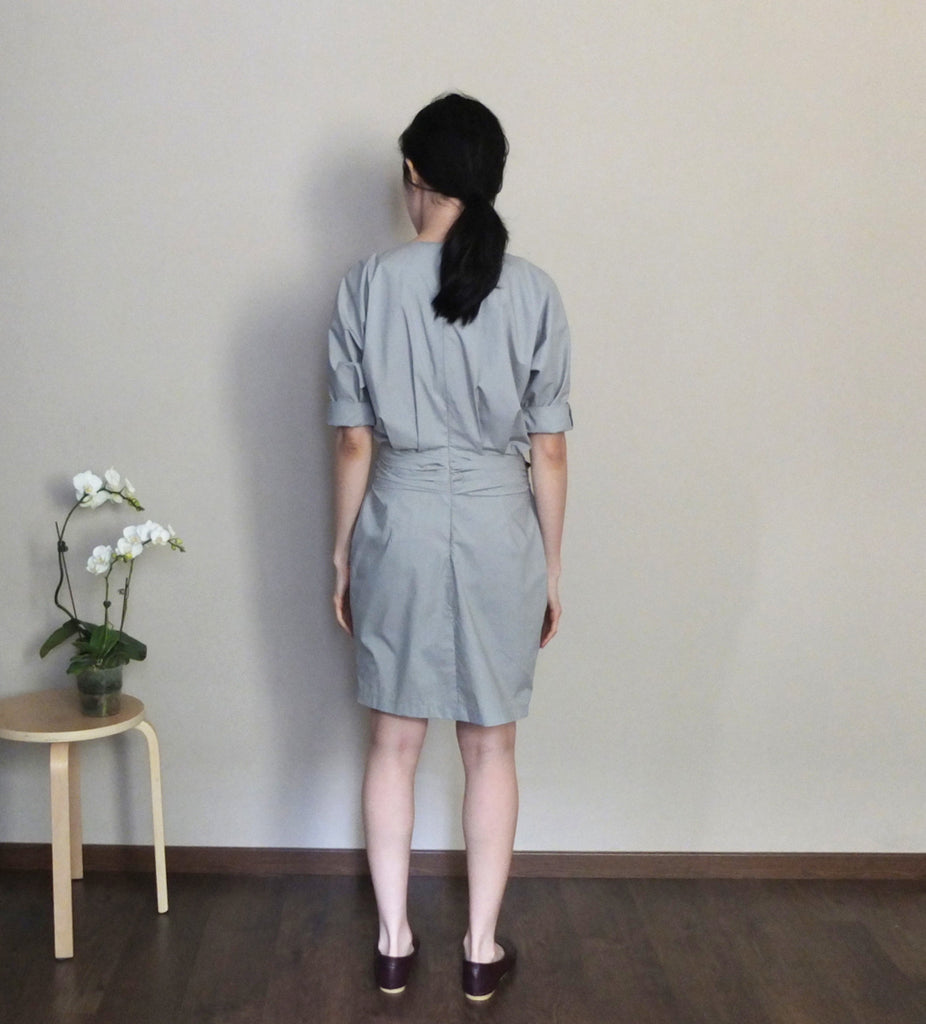 Origami dress{muted MINT}-sold out