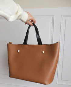 Rivoli handbag {Cognac}-sold out