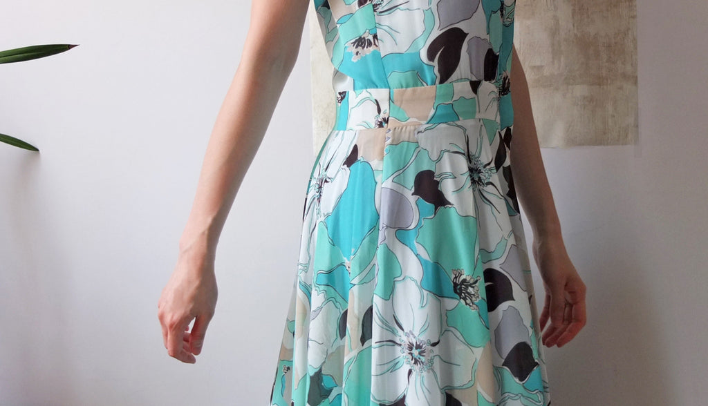 Vase dress-SOLD OUT