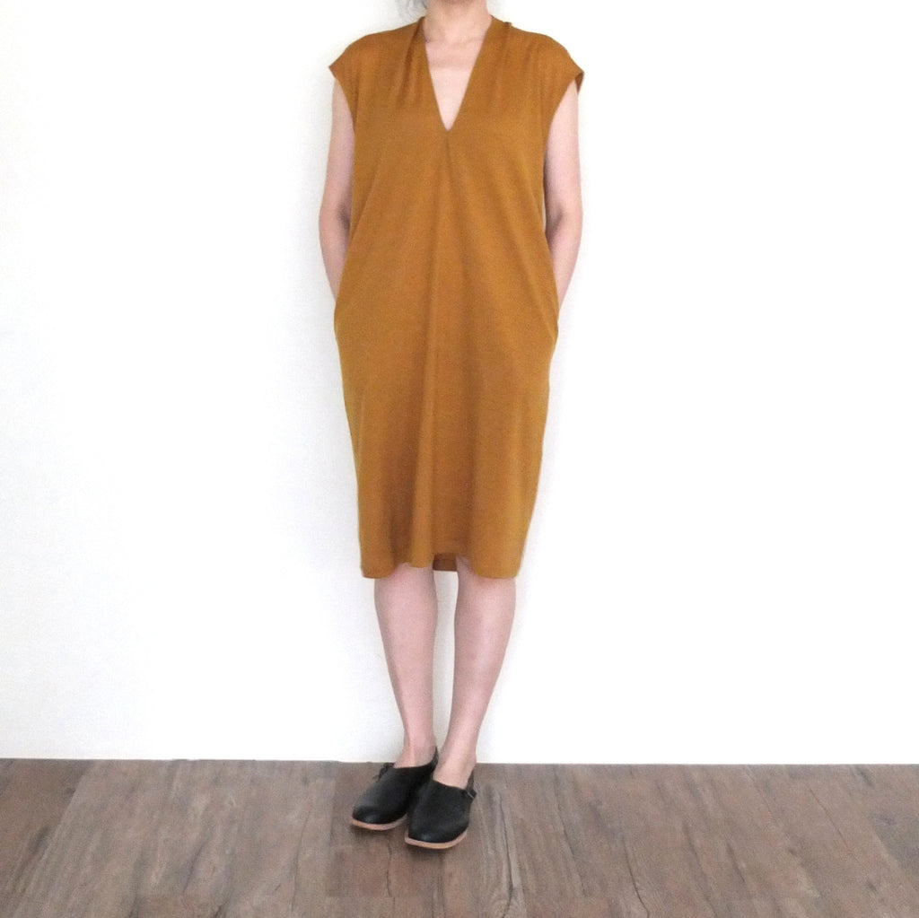 Ravenna dress {premium cotton/wool blend}-sold out