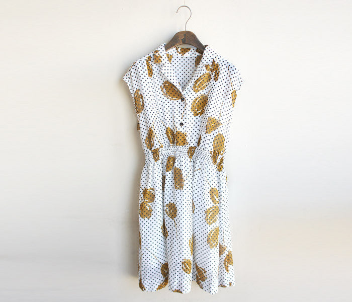 finca dress (Japanese-made vintage dress)sold out
