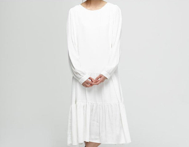 Anais dress {white} sold-out
