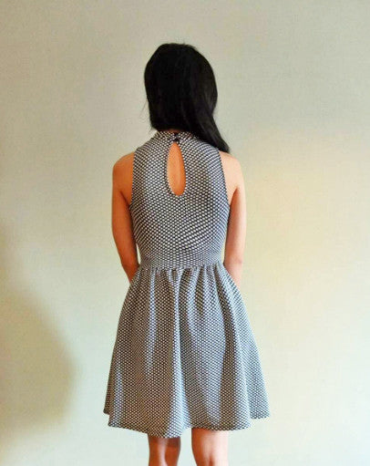 Monochrome Dress{SOLD OUT}
