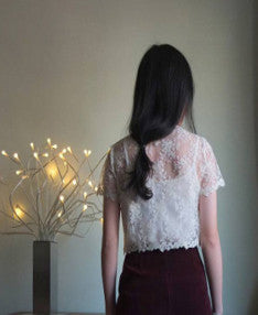 Lumiere lace top {Sold out}