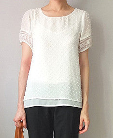 Marais blouse-sold out