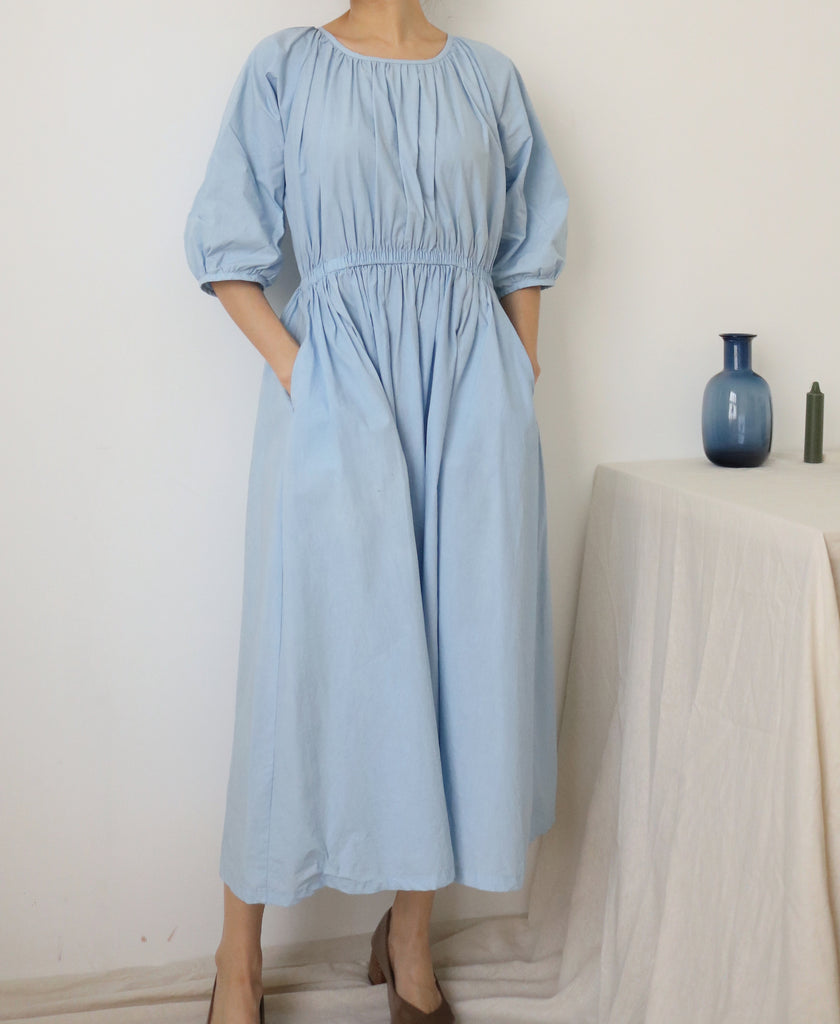 Mio Dress-sky blue