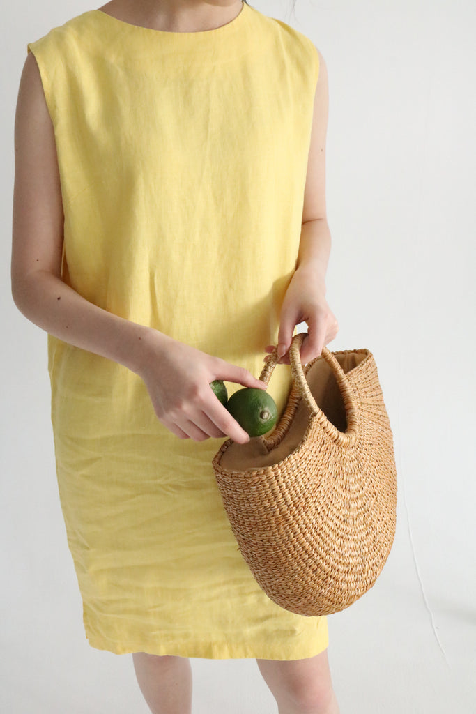 Alba woven tote-sold out
